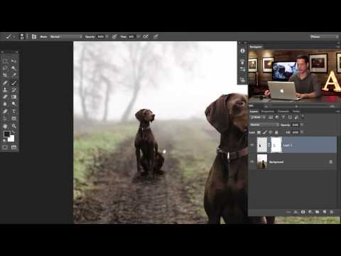 How to Duplicate Anything in Perspective using Photoshop