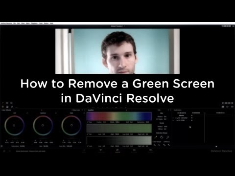 DaVinci Resolve 9 – How to Remove a Green Screen – Compositing Tutorial