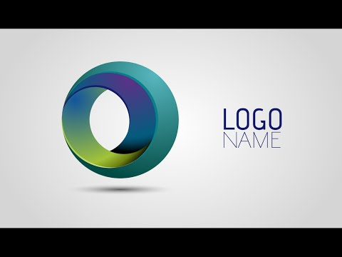 Adobe Illustrator Tutorials | How To Create Full 3D Logo Design 01