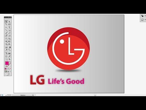 How to Create LG Logo in Illustrator CS5 Part 2