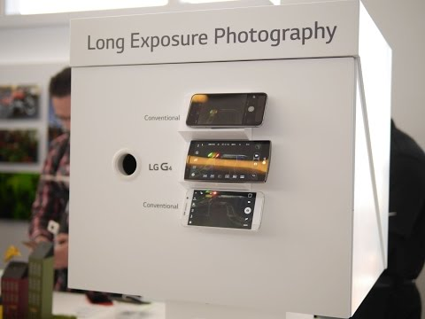 LG G4 long exposure photography demo