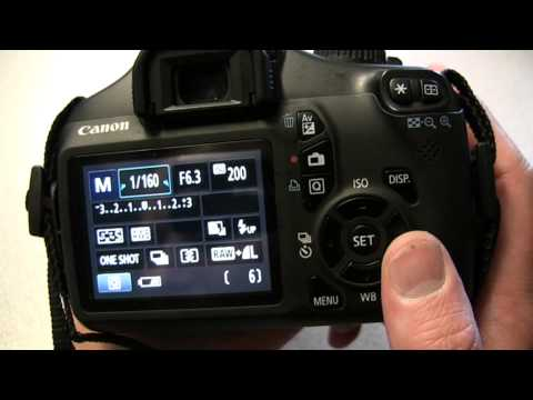 Using the Canon EOS 1100D DSLR – Media Technician Steve Pidd