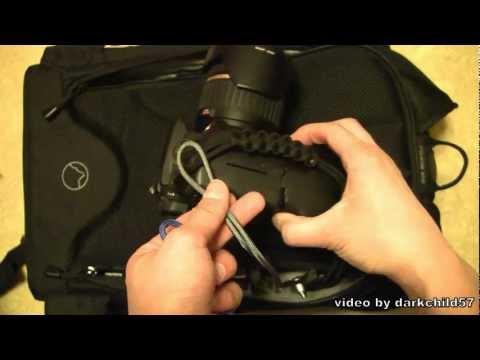 DIY: Canon DSLR Paracord handstrap and quick release neck strap (read description please)
