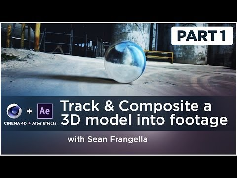 After Effects 3D compositing tutorial – Track and Composite a 3D Model into Live Action Footage