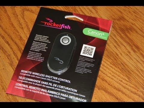 RocketFish Remote Wireless Shutter Control – Canon DSLR