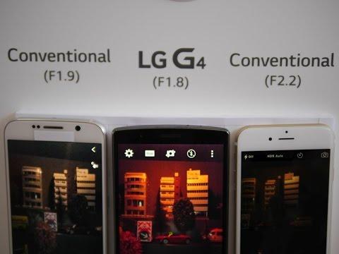 LG G4 low light photography demo