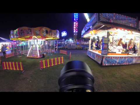 Nikon D750 14-24mm f2.8 &Gopro. Fairground photography
