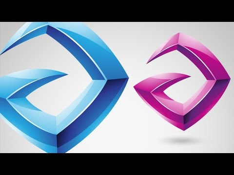 How to Design a Glossy Vector Logo in Adobe Illustrator – Tutorial