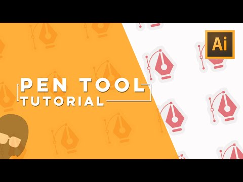 Illustrator Tutorials: How to Use the Pen Tool