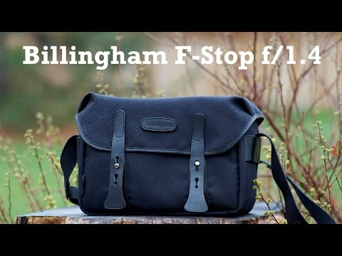 Billingham F-Stop f/1.4 Camera Bag Review
