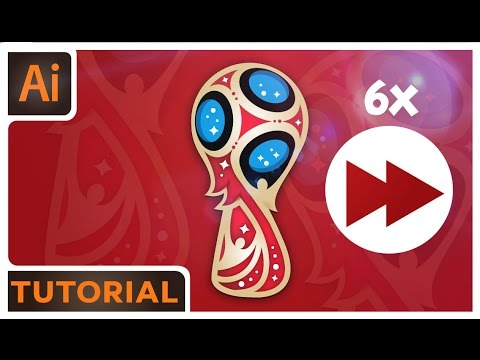 World Cup Logo Tutorial Time- Lapse – Adobe Illustrator