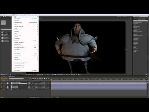 Lighting for Animation – Chapter 4 – Lesson 2 – After Effects Compositing