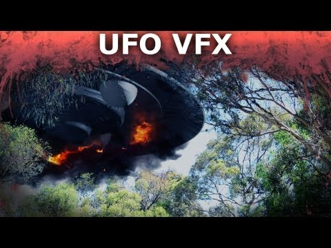 Compositing a UFO in After Effects – 3D Integration VFX Part 5