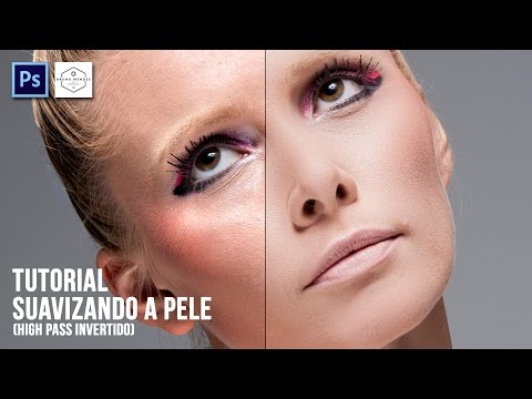 Tutorial – Tratamento de pele profissional (High Pass invertido) Photoshop CS6
