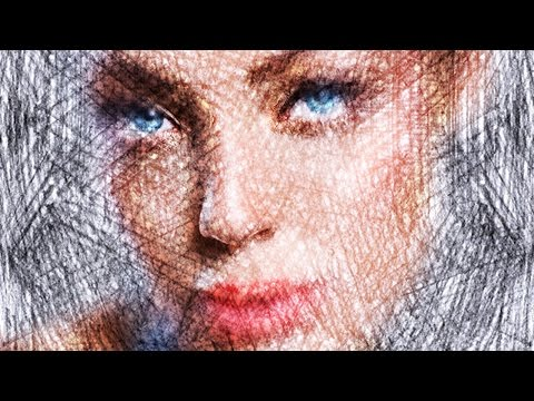 Photoshop: Transform Photos into Colored Pencil & Pastel Portraits