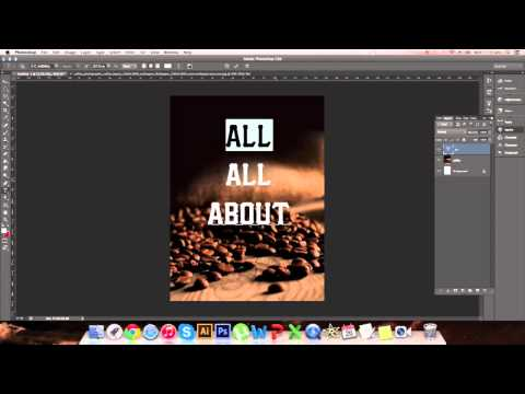 How To Make A Flyer/Poster Design Using Photoshop – Full Tutorial